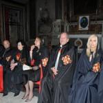 Alcuni membri del Consiglio Nobiliare durante la Cerimonia