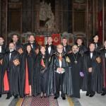 Foto di gruppo con i neo Cavalieri e Dama