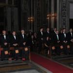 I Postulanti durante la Cerimonia