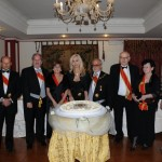 La torta commemorativa